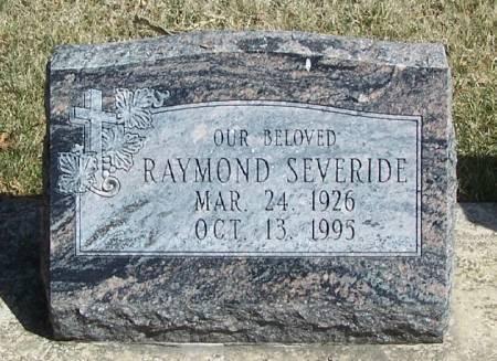 SEVERIDE, RAYMOND - Winneshiek County, Iowa | RAYMOND SEVERIDE