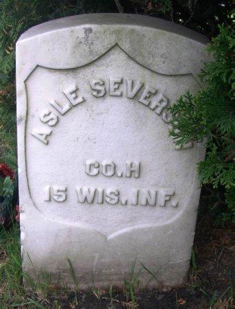 SEVERSON, ASLE - Winneshiek County, Iowa   ASLE SEVERSON