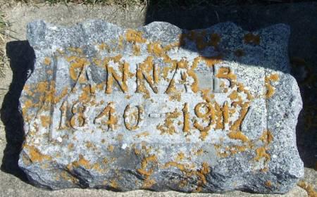 SEVERSON, ANNA B - Winneshiek County, Iowa | ANNA B SEVERSON