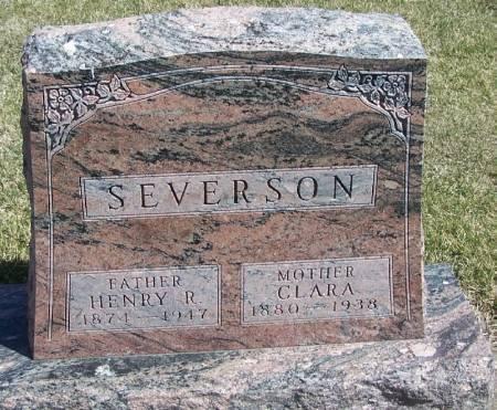 SEVERSON, HENRY R - Winneshiek County, Iowa | HENRY R SEVERSON