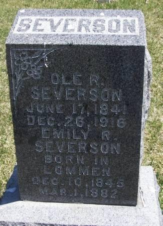 SEVERSON, OLE R - Winneshiek County, Iowa | OLE R SEVERSON
