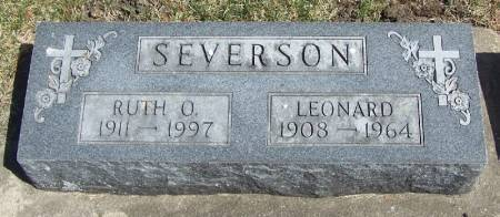 SEVERSON, LEONARD - Winneshiek County, Iowa | LEONARD SEVERSON