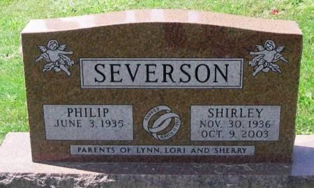 SEVERSON, SHIRLEY - Winneshiek County, Iowa   SHIRLEY SEVERSON