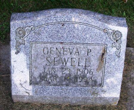 SEWELL, GENEVA P. - Winneshiek County, Iowa | GENEVA P. SEWELL