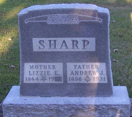 SHARP, ANDREW J - Winneshiek County, Iowa | ANDREW J SHARP