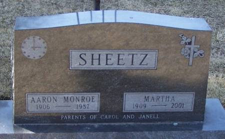 SHEETZ, MARTHA - Winneshiek County, Iowa | MARTHA SHEETZ