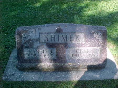 SHIMEK, FRANCIS  J. - Winneshiek County, Iowa | FRANCIS  J. SHIMEK