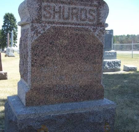 SHUROS, ARTHUR FAMILY STONE - Winneshiek County, Iowa   ARTHUR FAMILY STONE SHUROS