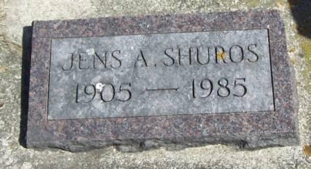 SHUROS, JENS A - Winneshiek County, Iowa | JENS A SHUROS