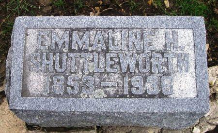 SHUTTLEWORTH, EMMALINE H. - Winneshiek County, Iowa | EMMALINE H. SHUTTLEWORTH