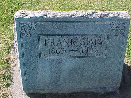 SIMA, FRANK - Winneshiek County, Iowa   FRANK SIMA