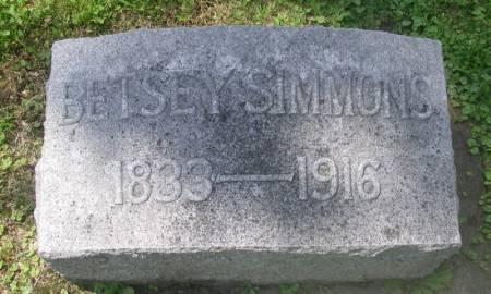 SIMMONS, BETSEY - Winneshiek County, Iowa   BETSEY SIMMONS