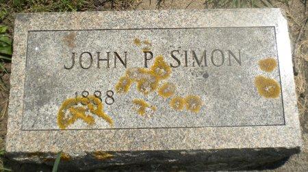 SIMON, JOHN P. - Winneshiek County, Iowa | JOHN P. SIMON