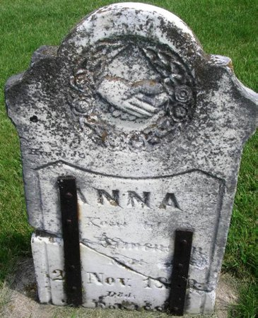 SIMONSON, ANNA - Winneshiek County, Iowa   ANNA SIMONSON