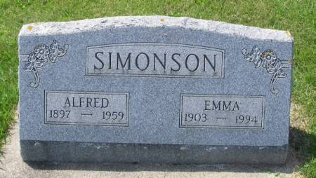 JOHNSON SIMONSON, EMMA - Winneshiek County, Iowa | EMMA JOHNSON SIMONSON