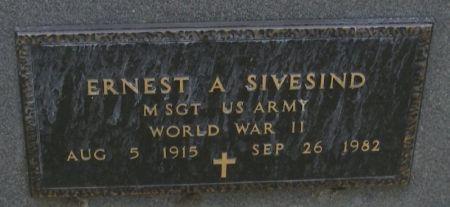 SIVESIND, ERNEST A. - Winneshiek County, Iowa | ERNEST A. SIVESIND