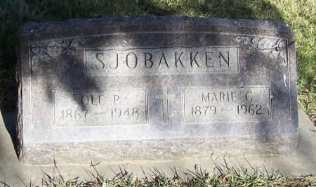 SJOBAKKEN, MARIE C - Winneshiek County, Iowa | MARIE C SJOBAKKEN