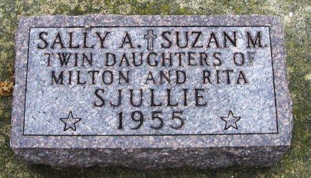 SJULLIE, SALLY A. - Winneshiek County, Iowa   SALLY A. SJULLIE