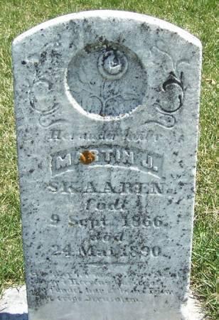 SKAAREN, MARTIN JOHANES - Winneshiek County, Iowa | MARTIN JOHANES SKAAREN