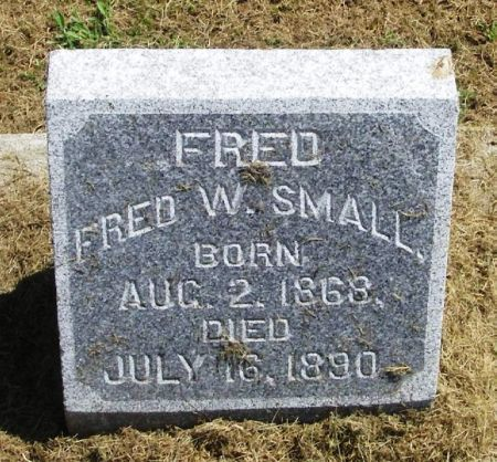 SMALL, FRED W. - Winneshiek County, Iowa | FRED W. SMALL