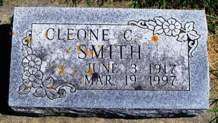 SMITH, CLEONE C - Winneshiek County, Iowa   CLEONE C SMITH