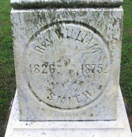 SMITH, WILLIAM  REV. - Winneshiek County, Iowa   WILLIAM  REV. SMITH