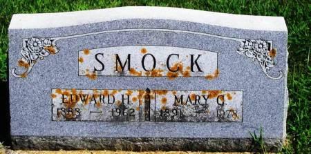 SMOCK, EDWARD H - Winneshiek County, Iowa   EDWARD H SMOCK