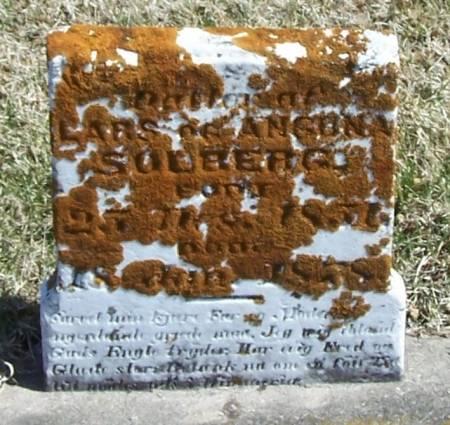 SOLBERG, DATTER - Winneshiek County, Iowa | DATTER SOLBERG