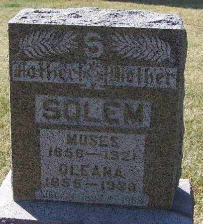 SOLEM, MELVIN - Winneshiek County, Iowa | MELVIN SOLEM