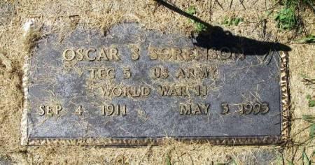 SORENSON, OSCAR S. - Winneshiek County, Iowa | OSCAR S. SORENSON