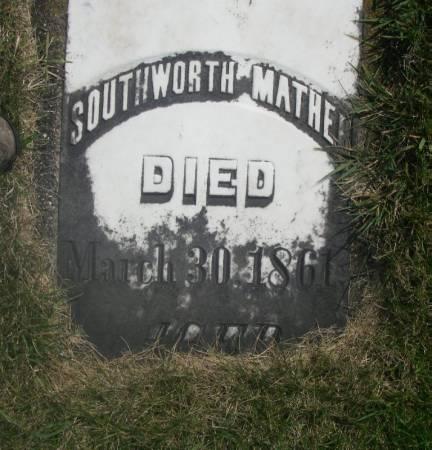 MATHER, SOUTHWORTH - Winneshiek County, Iowa | SOUTHWORTH MATHER