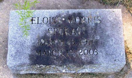 MORRIS SPERATI, ELOISE - Winneshiek County, Iowa | ELOISE MORRIS SPERATI