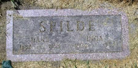 SPILDE, INGA - Winneshiek County, Iowa   INGA SPILDE