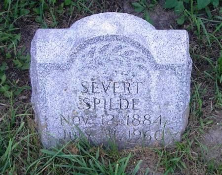 SPILDE, SEVERT - Winneshiek County, Iowa | SEVERT SPILDE