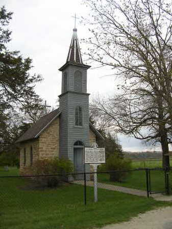 ST. ANTHONY OF PADUA CHAPEL, CEMETERY - Winneshiek County, Iowa | CEMETERY ST. ANTHONY OF PADUA CHAPEL