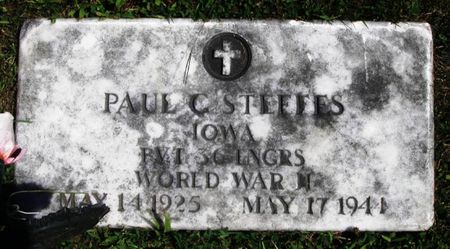 STEFFES, PAUL C. - Winneshiek County, Iowa   PAUL C. STEFFES