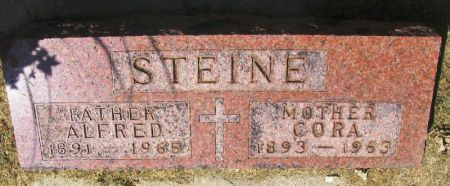 STEINE, CORA - Winneshiek County, Iowa | CORA STEINE