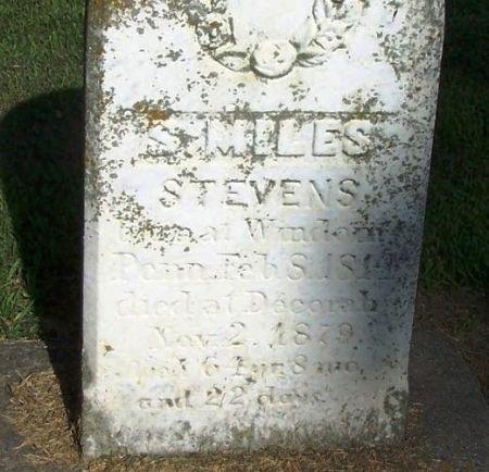 STEVENS, S. MILES - Winneshiek County, Iowa | S. MILES STEVENS