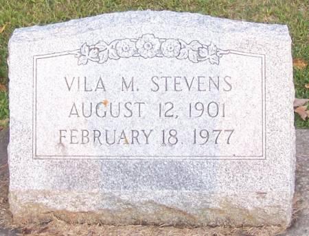 STEVENS, VILA M - Winneshiek County, Iowa | VILA M STEVENS