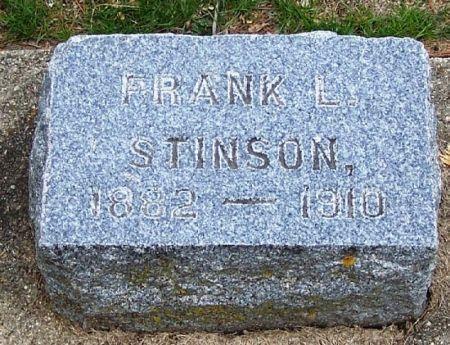 STINSON, FRANK L. - Winneshiek County, Iowa | FRANK L. STINSON