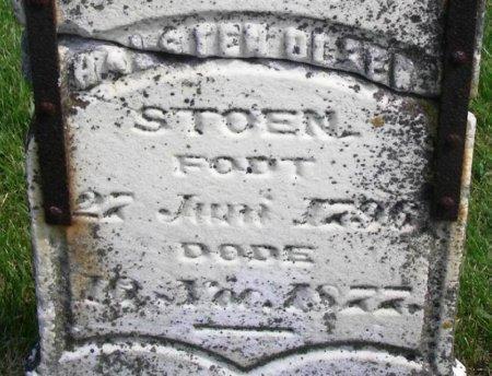STOEN, HALSTEN OLSEN - Winneshiek County, Iowa   HALSTEN OLSEN STOEN