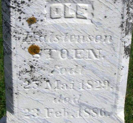 STOEN, OLE HALSTENSEN - Winneshiek County, Iowa | OLE HALSTENSEN STOEN