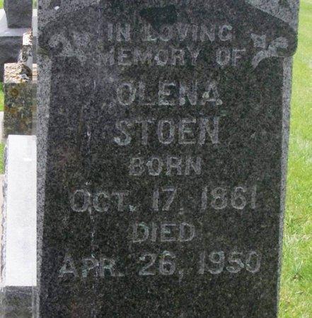 STOEN, OLENA - Winneshiek County, Iowa | OLENA STOEN