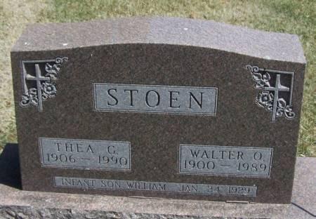 STOEN, WALTER O - Winneshiek County, Iowa | WALTER O STOEN