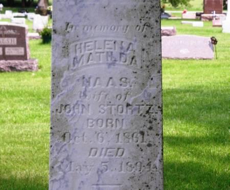 STORTZ, HELENA MATHDA - Winneshiek County, Iowa   HELENA MATHDA STORTZ