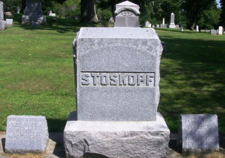 STOSKOPF, GEORGE FAMILY STONE - Winneshiek County, Iowa | GEORGE FAMILY STONE STOSKOPF