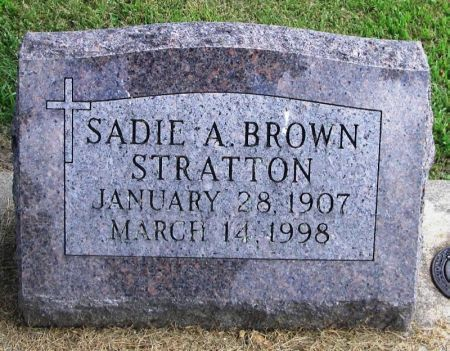 STRATTON, SADIE A. - Winneshiek County, Iowa | SADIE A. STRATTON