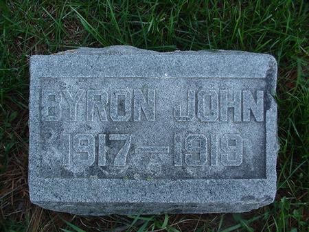 STREET, BYRON JOHN - Winneshiek County, Iowa | BYRON JOHN STREET