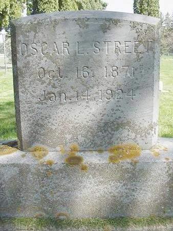 STREET, OSCAR LEROY - Winneshiek County, Iowa | OSCAR LEROY STREET
