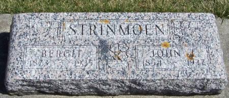STRINMOEN, JOHN J - Winneshiek County, Iowa | JOHN J STRINMOEN